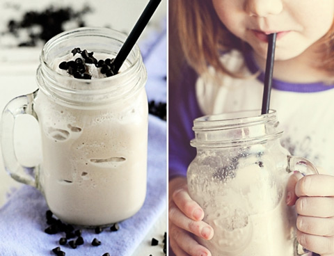 Frozen White Hot Chocolate