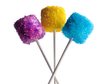 3 kleuren lollies
