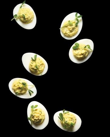 Gevulde Wasabi Eieren