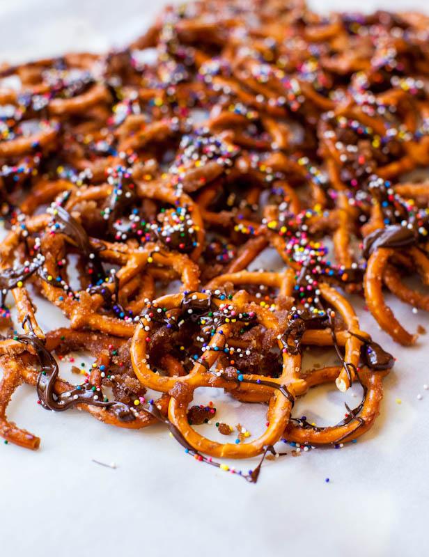 Kaneel Chocolade Pretzels