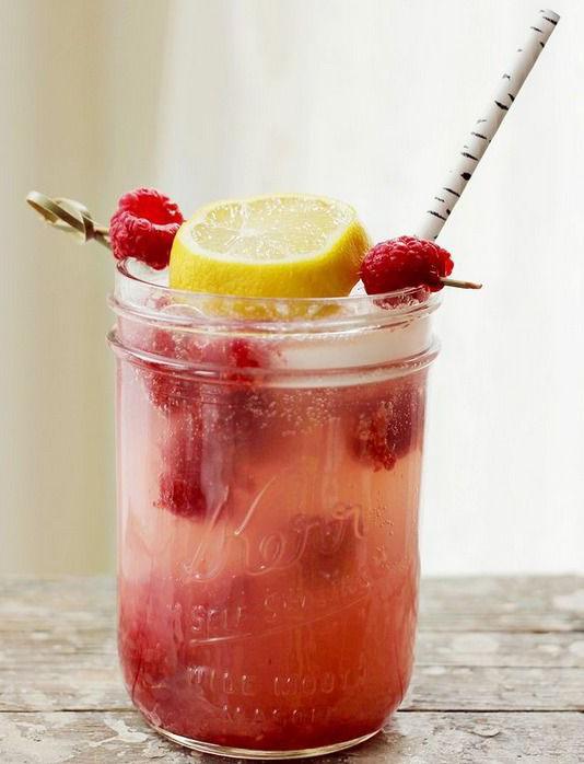 Frambozen Limonade Recept