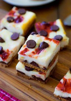 aardbeien chocolade cheesecake snacks